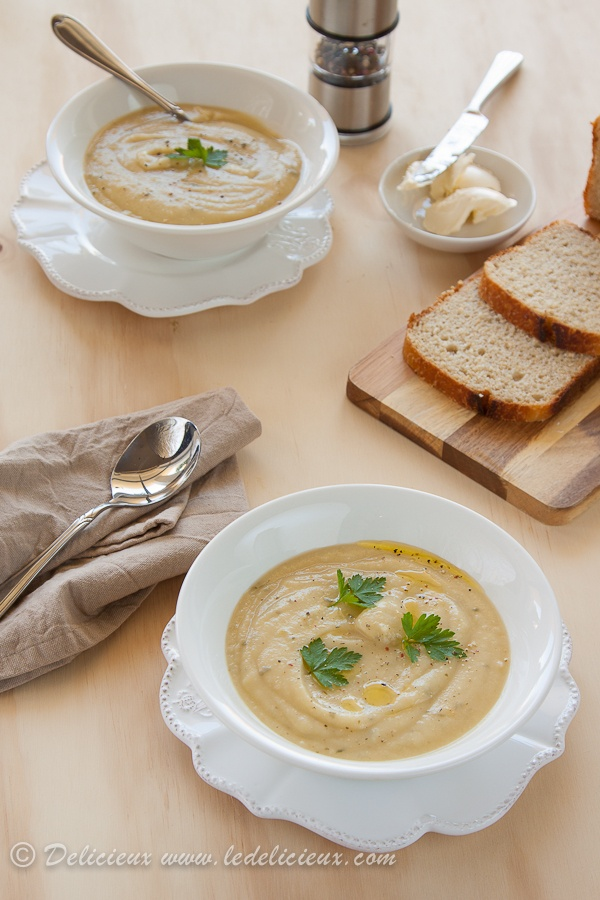 Celeriac Soup - making this for lunch this week :)