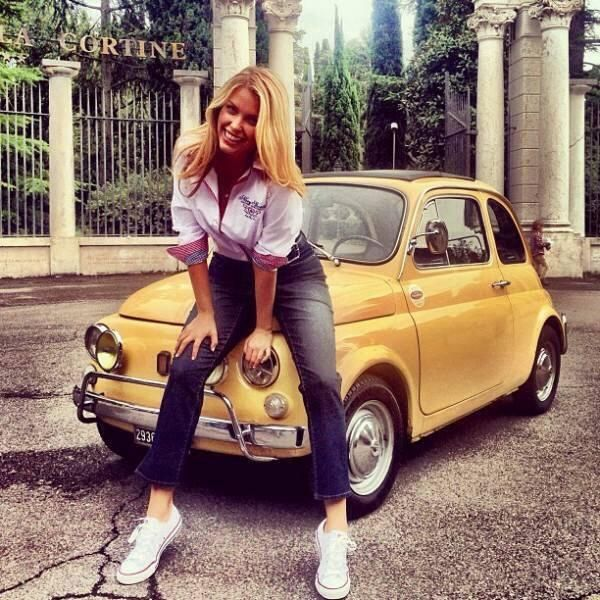 1000 images about fiat500 women on pinterest models photographs and pin up girls. Black Bedroom Furniture Sets. Home Design Ideas