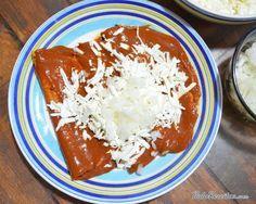 Receita de Enchilada mexicana