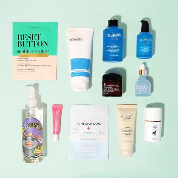 Korean Skincare Regimen Oily Acne Prone Skin Best Skin Care