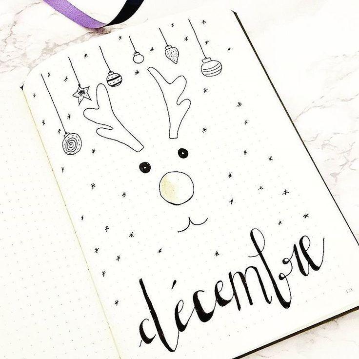 #bulletjournal #decembre #doodle