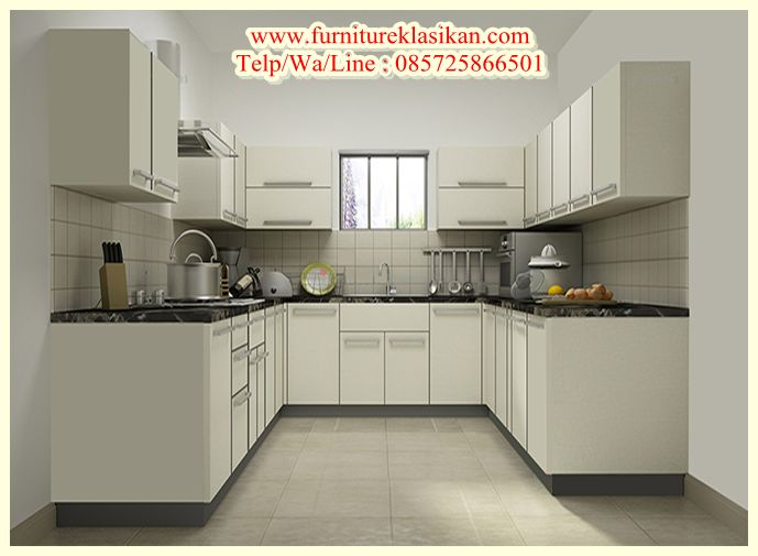 Desain Kitchen Set Jati Minimalis Deskripsi Produk Gambar