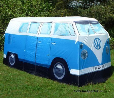 VW, camper, van, tent, sátor, kisbusz, extreme, extrém, sport, sportok, outdoor, kütyü