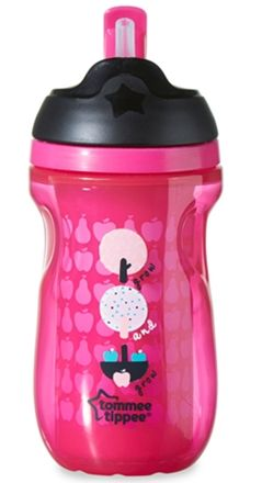 http://www.specialtytoystores.com/category/tommee-tippee/ Tommee Tippee Explora Drickmugg Straw Cup 260ml Rosa