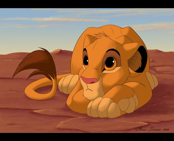 cute simba The Lion King Pinterest