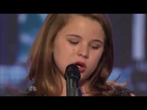 """11-year-old girl sings a hauntingly beautiful version of """"House of the Rising Sun"""" with a voice powerful beyond her years 