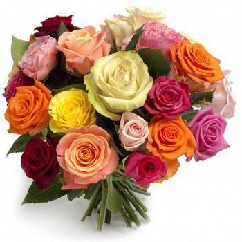 Välj ut en passande blombukett på nätet och skicka direkt till mottagaren. Ett bra sätt att gratulera någon på födelsedagen.