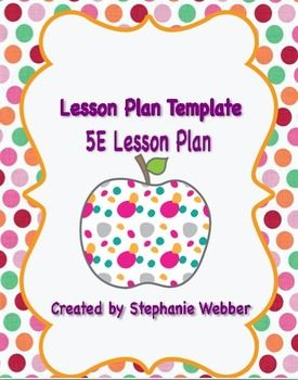 Free+5E+Lesson+Plan+Template