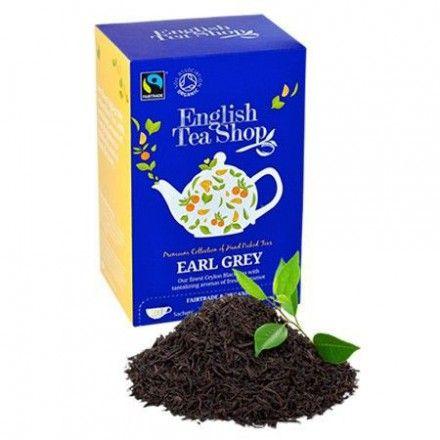 La tienda online gourmet y delicatessen Érase un gourmet tiene a la venta tés de la marca English Tea Shop como este té Earl Grey. Un excelente té negro. Comercio justo y solidario.