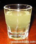 Good Cocktails - Kamikaze Mixed Drink Recipe