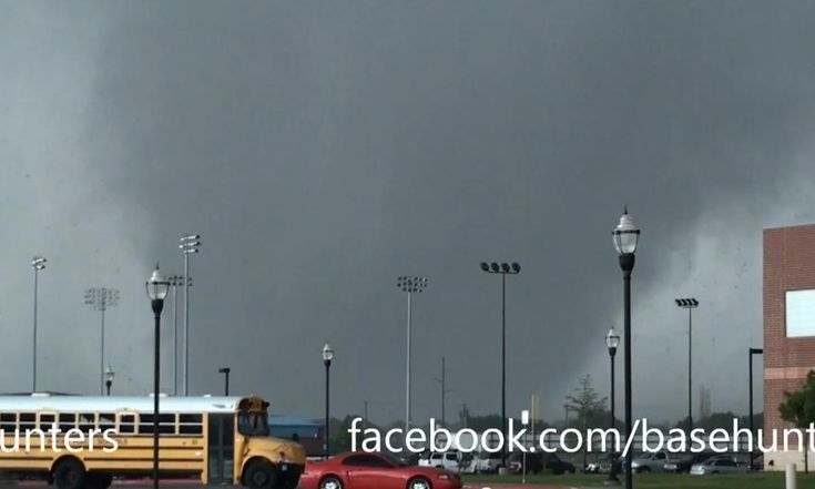 What Causes Tornadoes? tornado in Moore, OK on May 20, 2013 captured on Basehunters video