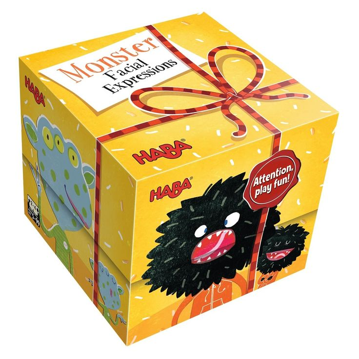 Gift Cube - Monster Facial Expressions | HABA USA