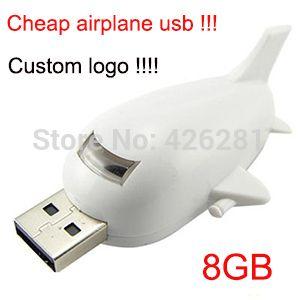 Мини-продвижение самолет Самолет Usb флэш-накопитель флэш-накопитель Usb memory stick usb диск логотип 1 ГБ 2 ГБ 4 ГБ 8 ГБ 16 ГБ 32 ГБ