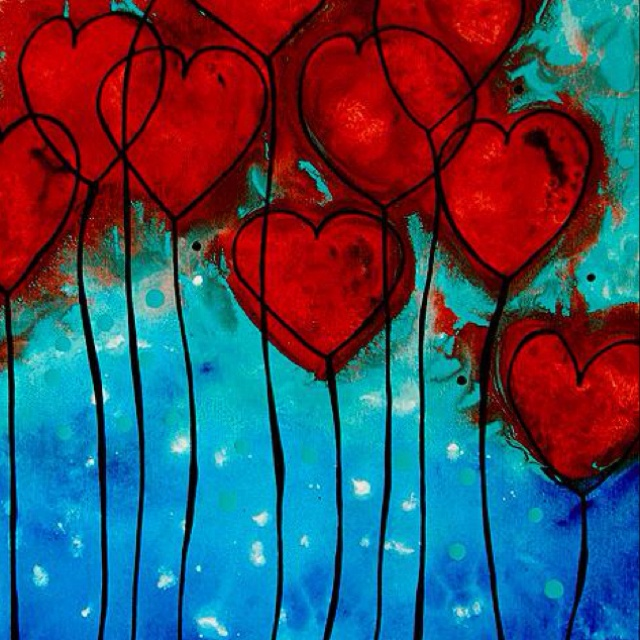 207 best images about acrylics on pinterest how to paint for Cute abstract art