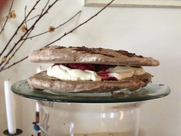 Chocolate and Raspberry Vacherin | The Quirk and the Cool