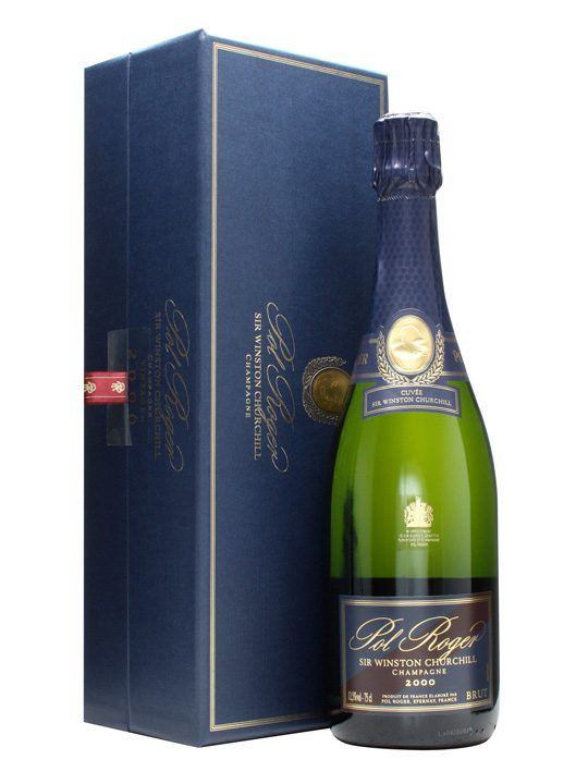 Pol Roger 2000 Champagne / Sir Winston Churchill : Buy Online - The Whisky Exchange - The 2000 vintage, the 13th to be released, of Pol Rogers bottling in honour of Sir Winston Churchill, lover of fine drinks, especially champagne. Its created to reflect his style, and is a full-b...