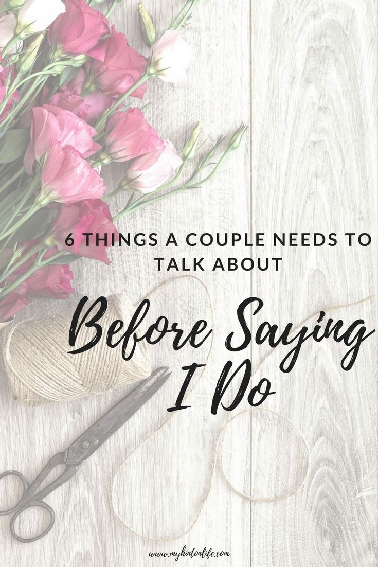 Things to talk about before dating