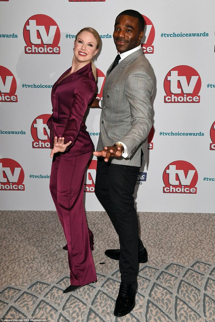 Twinkle toes: Strictly Come Dancing's 2016 winnerJoanne Clifton and Ore Oduba danced their way onto the carpet