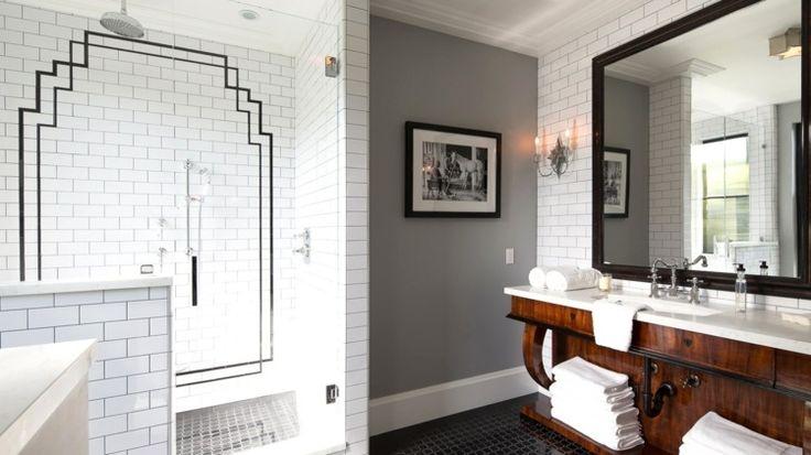 peinture-carrelage-salle-bain-careaux-blancs-style-metro-joints-noir peinture carrelage salle de bain