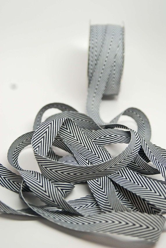 pretty striped twill ribbon, for wedding invites? $2.50 for three yards