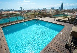 hôtel avec piscine dans le centre de Barcelone