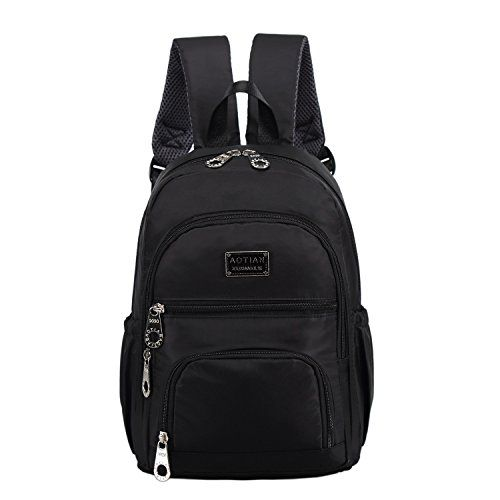 AOTIAN Waterproof Nylon Backpack 9.5x13.4x4.4