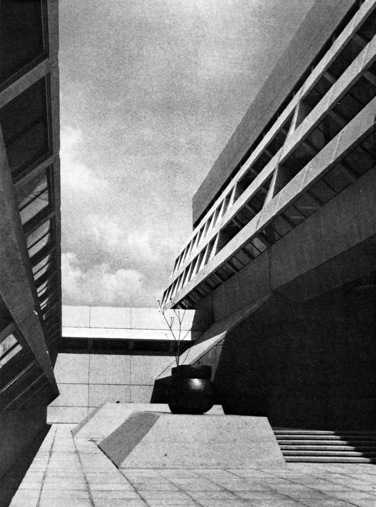 Chemistry-Physics Institute and University Bookstore, University of Guelph, Ontario, 1972 (Craig, Ziedler & Strong)