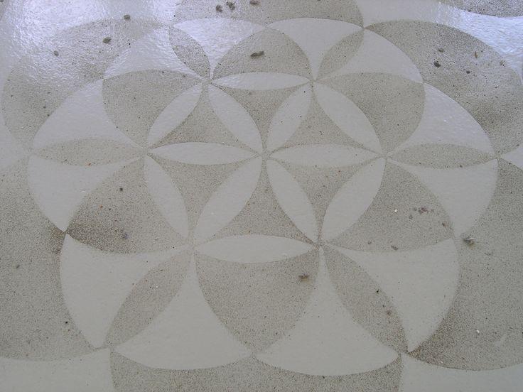 Igor Eskinja, Untitled (Bremen Carpet), dettaglio, polvere, 2010