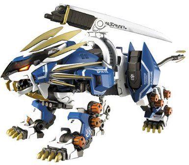 Amazon.com: Zoids Genesis GZ-010 Murasame Liger Model Kit: Toys & Games
