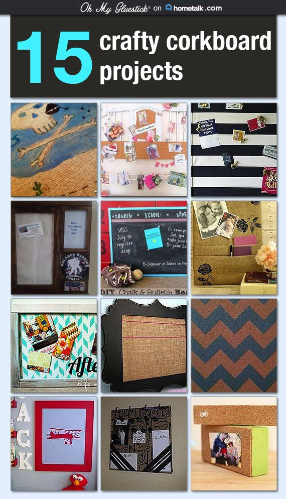 Love that fabric idea! Cork boards are essential in my house...otherwise, I'd probably lose everything! ;)
