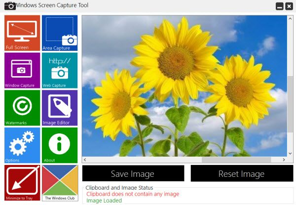 Windows Screen Capture Tool is a free screen capturing tool designed to work on the Windows operating system