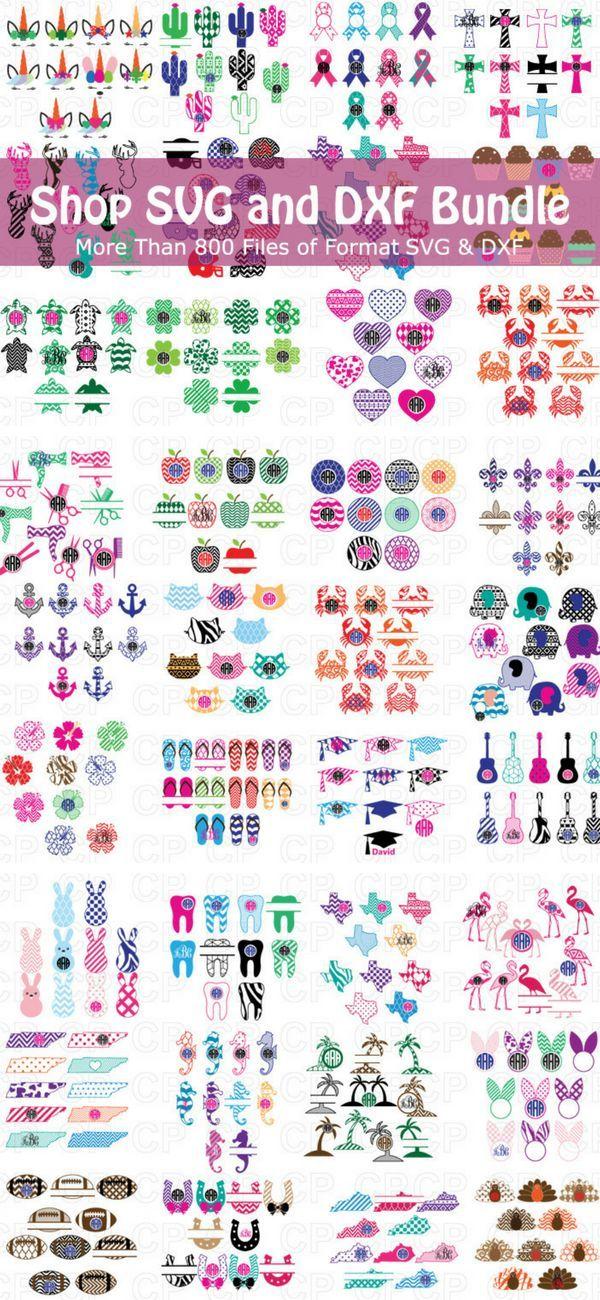 Monogram Frame Bundle Svg Monogram Bundle Svg Dxf Png Jpg Monogram Frame Diy Gifts For Friends Svg