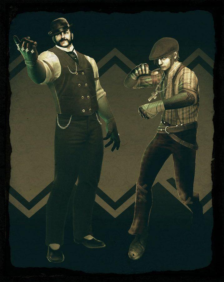 Victorian Era Brawler Videogame Character Design #01, Matt Kresge on ArtStation at https://www.artstation.com/artwork/1obX
