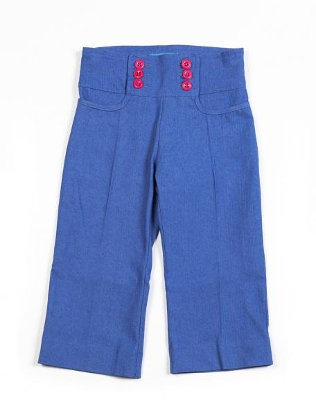 Jeans Jeanie Weenie blauw Saints and Bullies Broek Meisje - Minifox - Online store - webwinkel van originele, kwaliteitsvolle designer baby- en kinderkleding