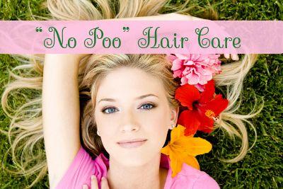 No Poo Hair Care