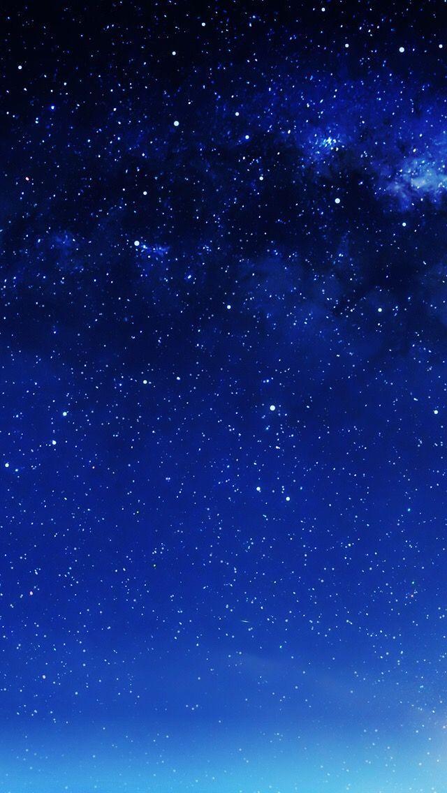 Sky Blue Galaxy Background