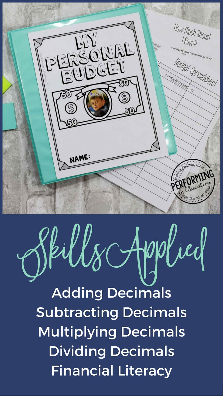 Love this project-based learning activity for 5th graders! It teaches financial literacy skills through the math skills. It has adding decimals, subtracting decimals, multiplying decimals, dividing decimals, and other awesome math skills!
