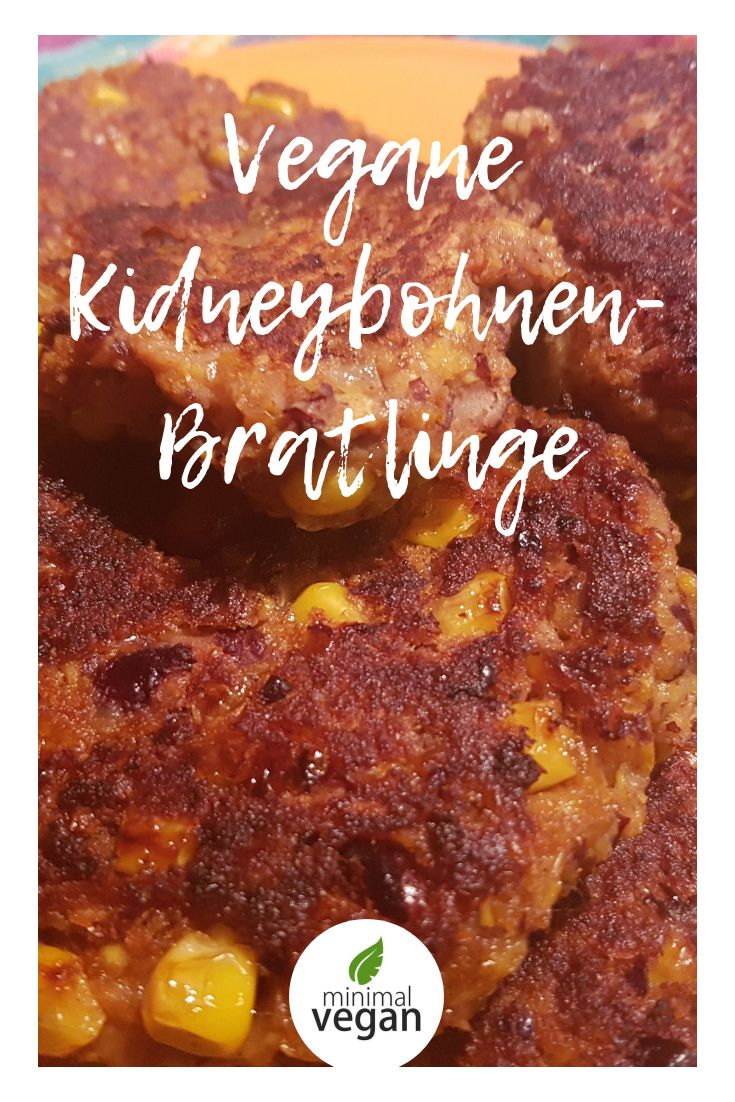 Vegane Kidneybohnenpastetchen   – Fitness-Food & Recipes (gesund & vegan)