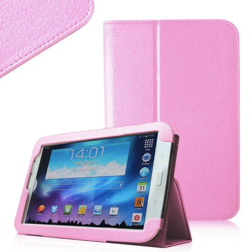 Invero® Slim Fit Leather Tablet Case Cover with Stand Feature for Samsung Galaxy Note 8.0 GT-N5100, GT-N5110 Includes Screen Protector & Stylish Stylus Pen (Baby Pink) Invero® http://www.amazon.co.uk/dp/B00CMAQ7B2/ref=cm_sw_r_pi_dp_nATYub010KW77
