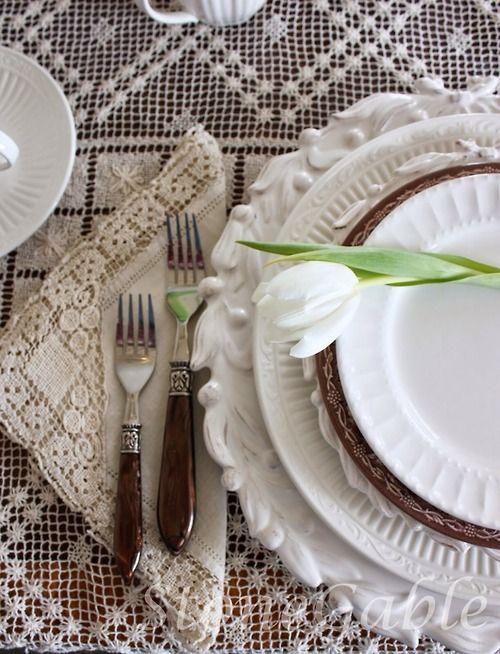 White Plates!