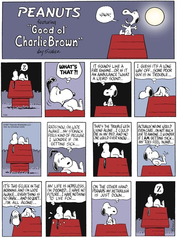 Peanuts for 7/20/2014 | Peanuts | Comics | ArcaMax Publishing