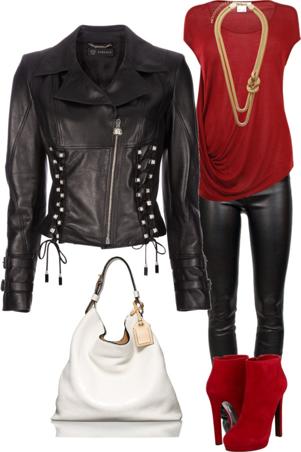 Awesome rocker chick outfit...everyone needs at least ONE!  :)