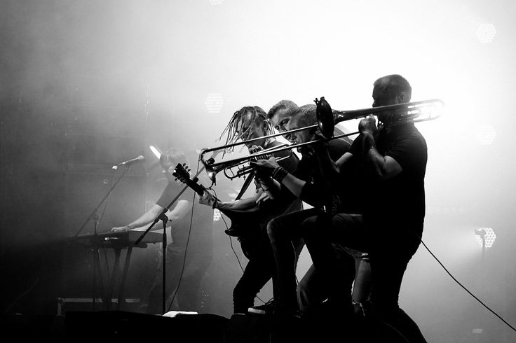 Team work - Zhadan and The Dogs band, Atlas Weekend Festival, Kiev, 2017