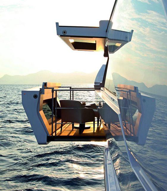 Exclusivo balcón con vistas al mar