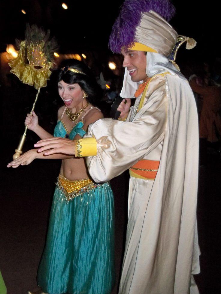 Princess Jasmine & Aladin...