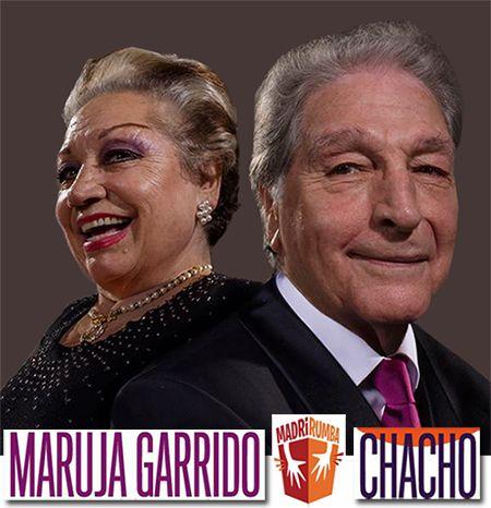 Maruja Garrido y Chacho en MadríRumba 2016