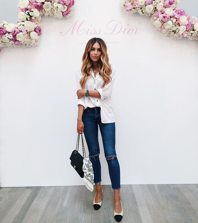 WEBSTA @ lydiaemillen - Another day another pair of distressed denim!Also…