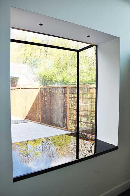 Frameless Windows Bow window House windows Bay window