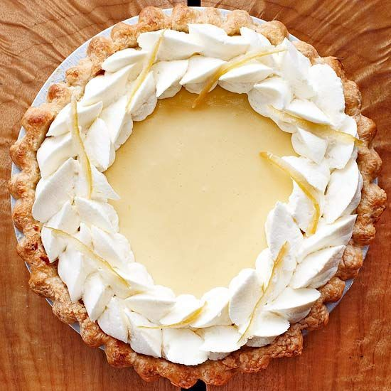 This Lemon Velvet Cream Pie is sure to go over well at your next get-together!