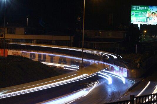 Concepción puente llacolen 23:30 hrs.
